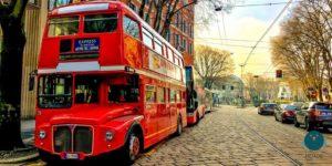Bus inglese Milano